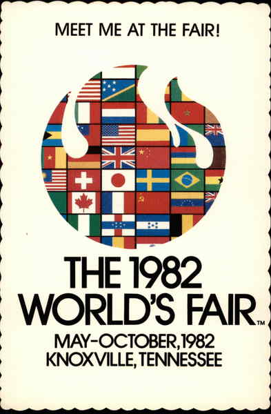World's Fair 1982 Knoxville Tennessee