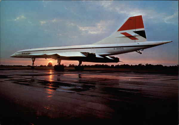 The British Airways Concorde Aircraft