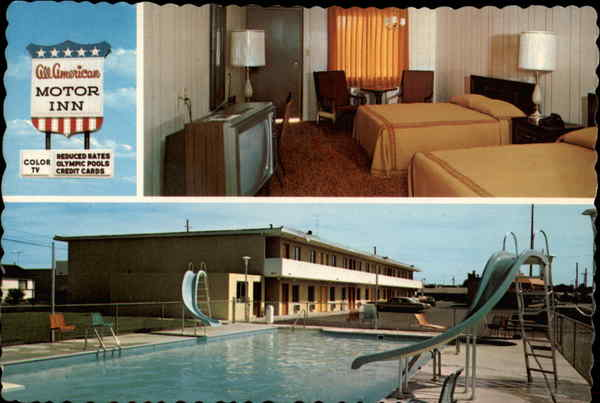 All American Motor Inn Sandusky Ohio Garnet O'Neil