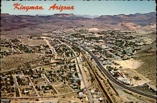 Aerial View Kingman Arizona