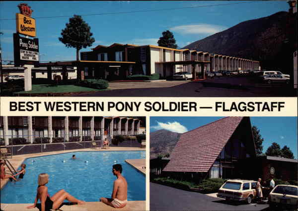 Best Western Pony Soldier Flagstaff Arizona Bob Bradshaw