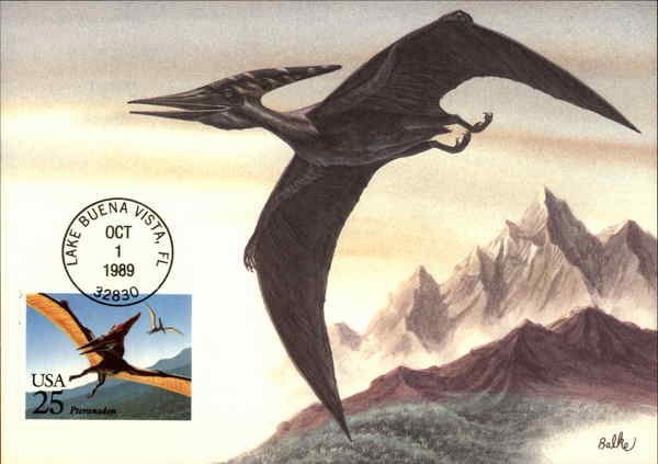 Pteranodon Maximum Cards