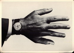 Hand with Man's Wristwatch
