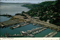 Aerial View of Sausalito Yacht Harbor