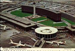 Chicago-O'Hare International Airport Postcard