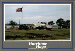 Hurricane Hugo, September 21-22, 1989 Postcard