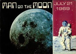 Man On the Moon July 21 1969