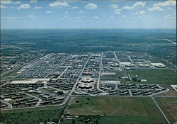 Overall Aerial View of Lackland Air Force Base