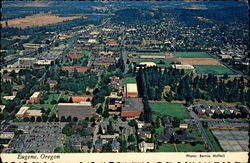 Aerial View of Eugene - Home of University of Oregon