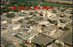 Aerial view of Old Mesilla