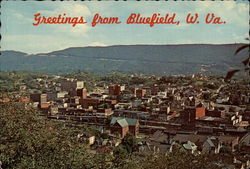 Beautiful Aerial View of Bluefield