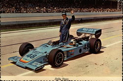 Bobby Unser with Jorgensen Eagle