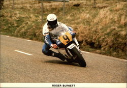 Roger Burnett at Hailwood Heights