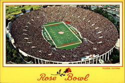 The Rose Bowl on New Year's Day