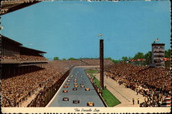 The Parade Lap Postcard