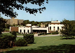 J.C. Williams Center, University of Steubenville Postcard