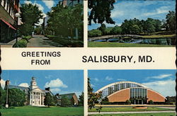 Greetings from Salisbury, Md
