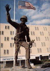 Follow Me! The Infantry Statue