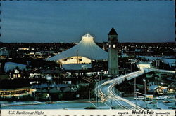 U.S. Pavilion at Night, Expo '74 World's Fair