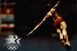 Games of the XXIIIrd Olympiad Los Angeles 1984 - Diving