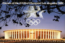 Games of the XXIIIrd Olympiad Los Angeles 1984