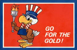 Go For The Gold! Sam The Olympic Eagle