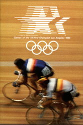 Games of the XXIIIrd Olympiad Los Angeles 1984 - Cycling