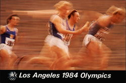 Los Angeles 1984 Olympics - Track and Field