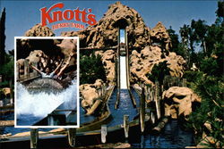 Knotts Berry Farm and the Timber Mountain Log Ride