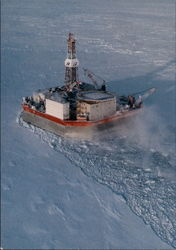 Mobile Artic Caisson Drilling for Oil
