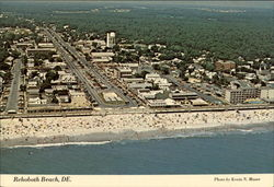 Aerial view of Rehoboth Beach