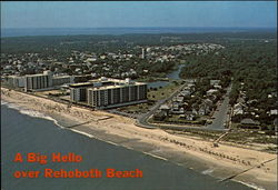 A Big Hello over Rehoboth Beach