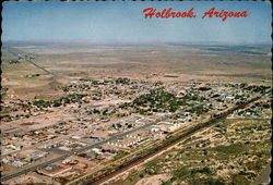 Aerial View of Holbrook