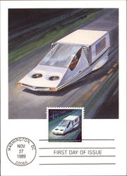 Mail Transportation of the Future - First Day of Issue November 27, 1989 45c