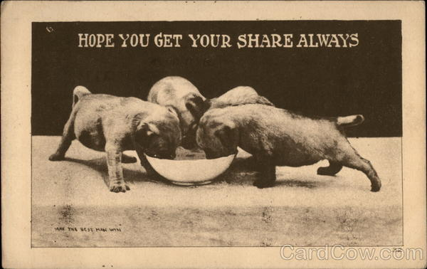 Hope you get your share always Dogs