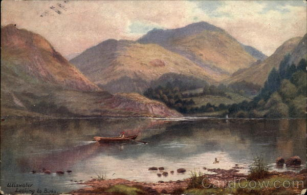 Ullswater looking to Birks Scenic England