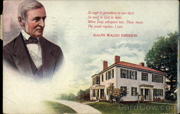 Quote from Emerson Poems & Poets