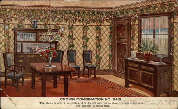 Crown combination no. X413 Advertising