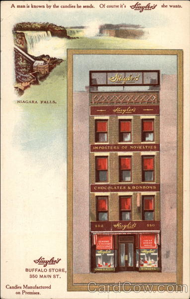 Huyler's Candies Advertising