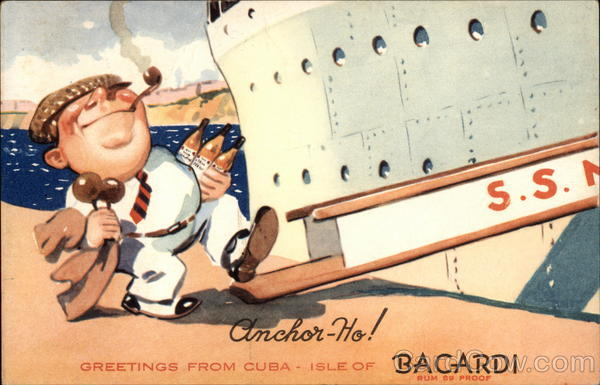 Bacardi - Greetings from Cuba Advertising
