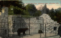 Bear Cage, Washington Park, Milwaukee, Wis