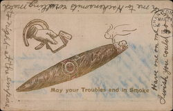 May your troubles end in Smoke