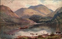 Ullswater looking to Birks Postcard