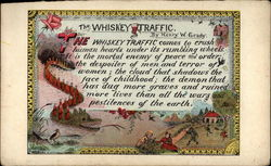 The whiskey traffic Postcard