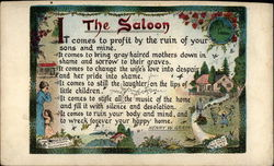 The Saloon Postcard