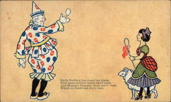 Clown and Little Bo-Peep