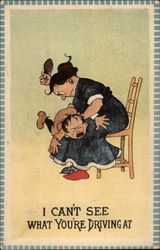 Child getting spanking