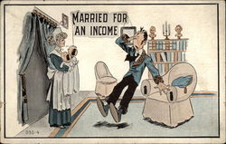 Married for an income
