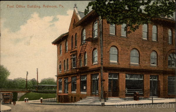Post Office Building Ardmore Pennsylvania