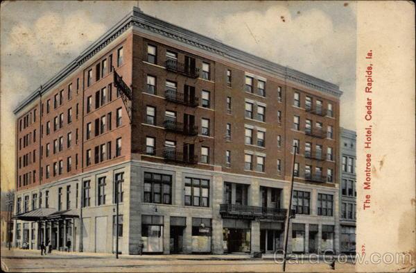 The Montrose Hotel Cedar Rapids Iowa